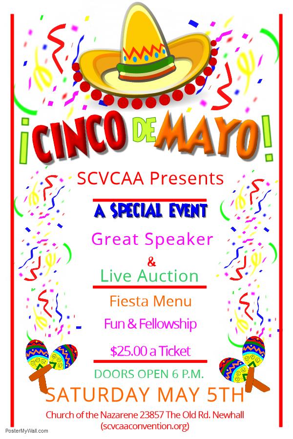 Cinco De Mayo Flyer 3